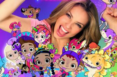 Thalía llega a Discovery Kids
