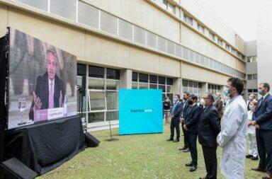 """Alberto Fernández inauguró un hospital en Ituzaingó y afirmó: """"me declaro el mejor discípulo de Néstor Kirchner"""""""