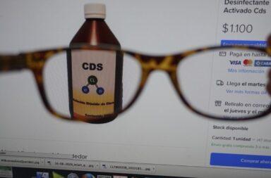 La ANMAT dio de baja más de 400 publicaciones en las que se vendía dióxido de cloro por internet