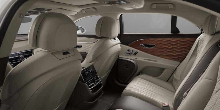 Los nuevos interiores de Bentley son con madera tridimensional