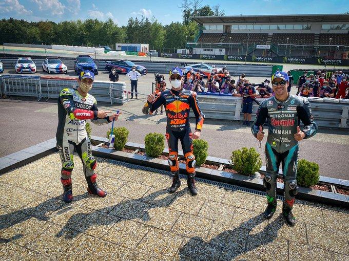 Binder ganó en Brno e hizo historia con KTM