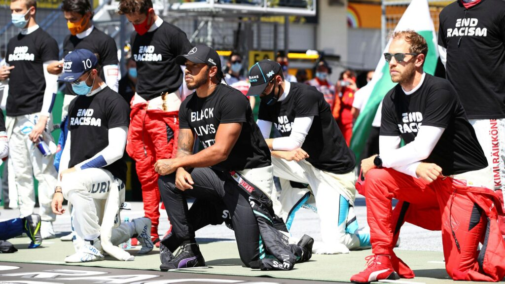 Hamilton y un contundente mensaje contra el racismo