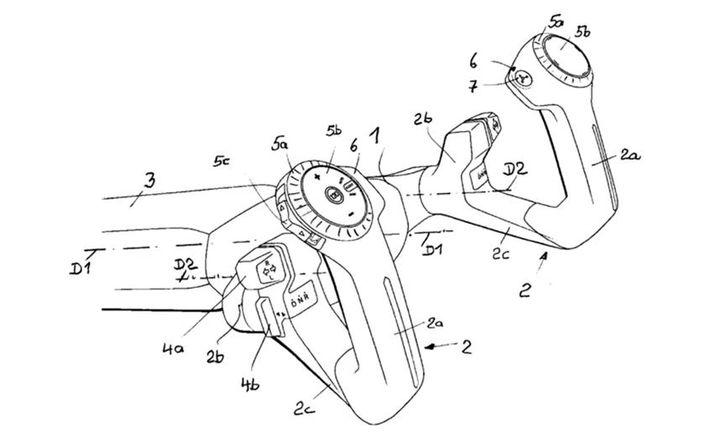 El curioso volante tipo joystick que patentó BMW