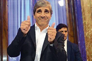 El exministro macrista Luis Caputo elogió el acuerdo argentino con los bonistas que evitó el default