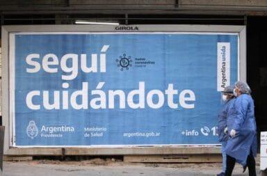168 personas murieron y 6.792 fueron diagnosticadas con coronavirus en Argentina en las últimas 24 horas