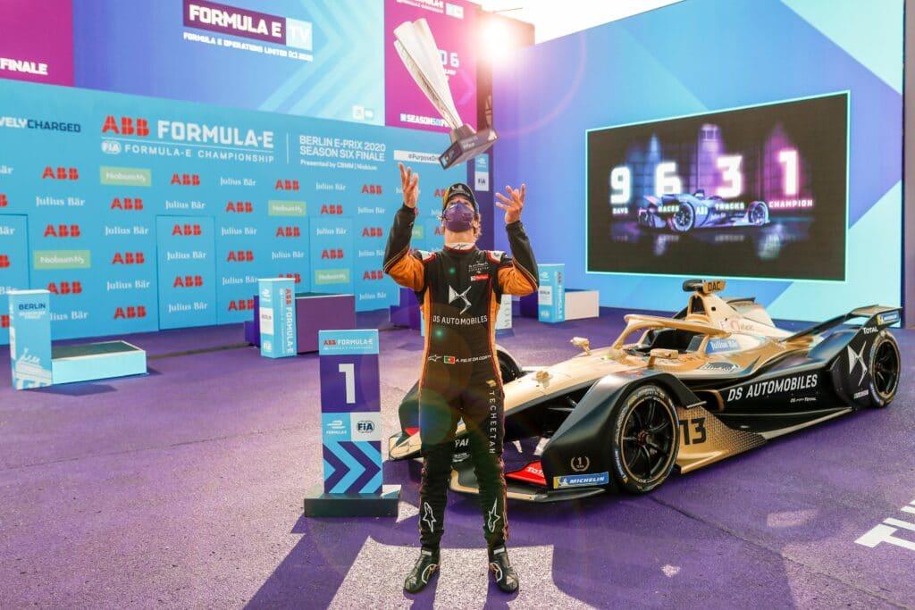 Da Costa volvió a triunfar en Berlín y se acerca al título en la Fórmula E