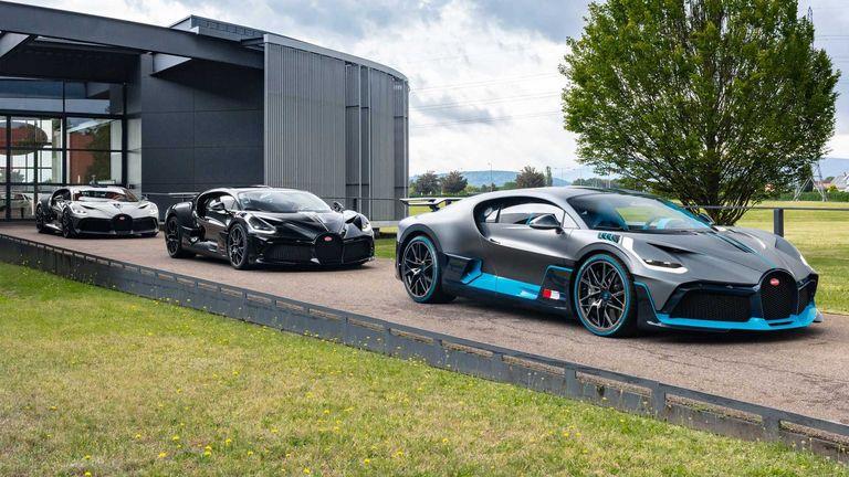 Bugatti comenzó con las primeras entregas del Divo
