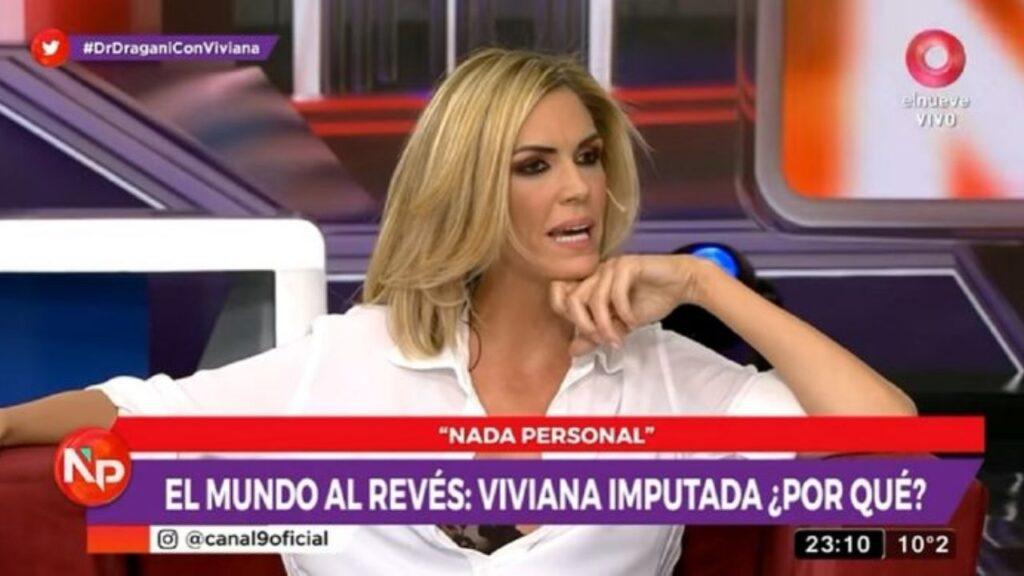 Viviana Canosa hizo su descargo: