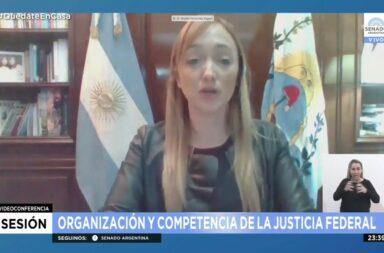 Reforma judicial: la senadora Fernández Sagasti denunció amenazas y difusión de datos personales de los senadores