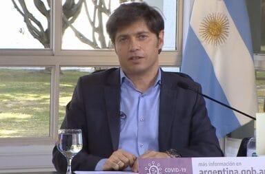 """Axel Kicillof: """"no es momento de buscar votos"""""""