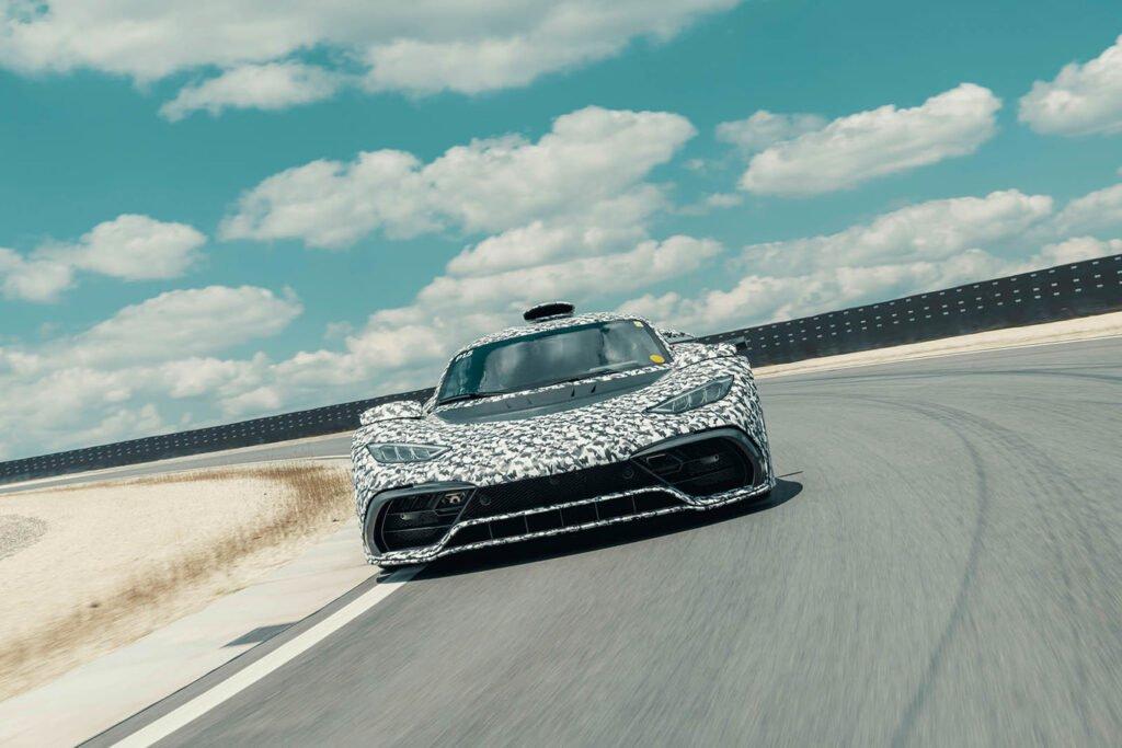 Project One: La bestia de Mercedes AMG que ya comenzó con pruebas en pista