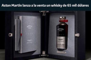 Aston Martin lanza a la venta un whisky de 65 mil dólares