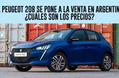 El Peugeot 208 se pone a la venta en Argentina: ¿Cuáles son los precios?