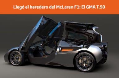 Llegó el heredero del McLaren F1: El GMA T.50