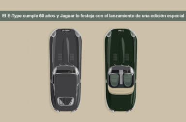 El E-Type cumple 60 años y Jaguar lo festeja con el lanzamiento de una edición especial