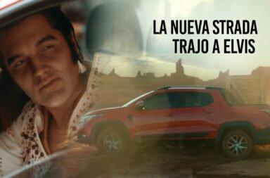 Fiat revive a Elvis Presley para el comercial de la nueva Strada