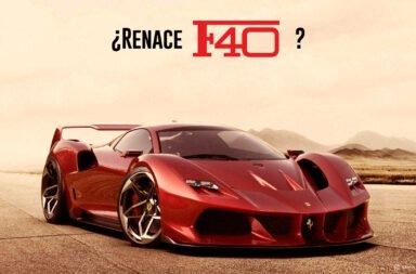 ¿Renace la Ferrari F40?