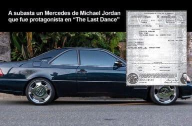"""A subasta un Mercedes de Michael Jordan que fue protagonista en """"The Last Dance"""""""