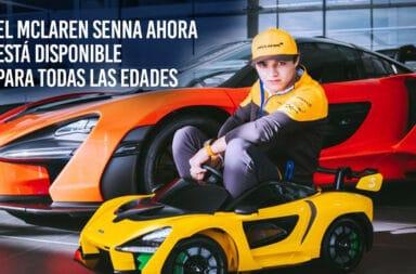 El McLaren Senna ahora está disponible para todas las edades