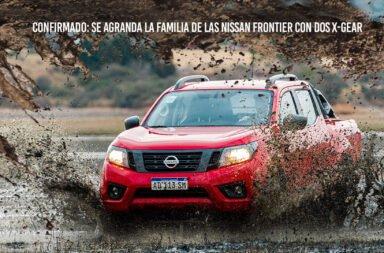 Confirmado: Se agrandó la familia de las Nissan Frontier con dos X-Gear