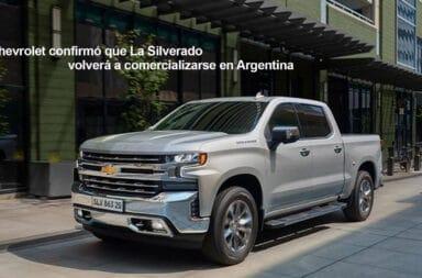 Chevrolet confirmó que La Silverado volverá a comercializarse en Argentina