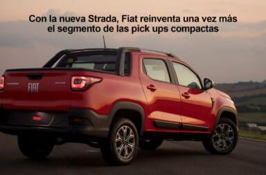 Fiat presentó oficialmente la nueva Strada para el mercado argentino
