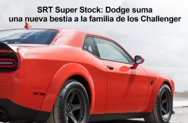 SRT Super Stock: Dodge suma una nueva bestia a la familia de los Challenger