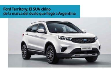 Ford Territory: El SUV chino de la marca del óvalo que llegó a Argentina