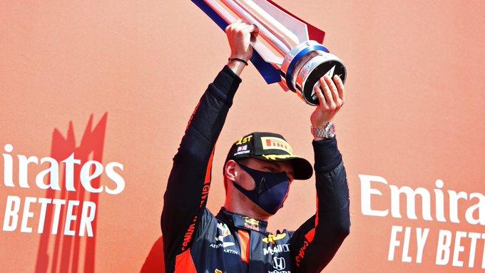 Verstappen se lució en la fiesta por los 70 años de la Fórmula 1 en Silverstone