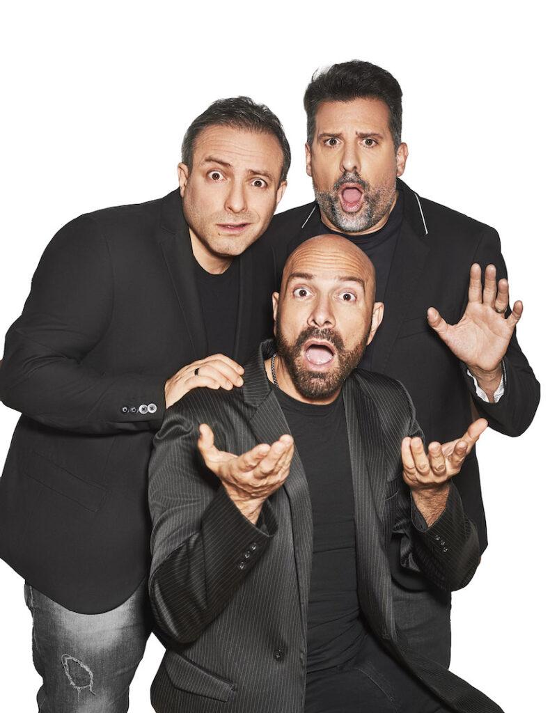 José María Listorti, Fredy Villarreal y Sebastián Almada hacen