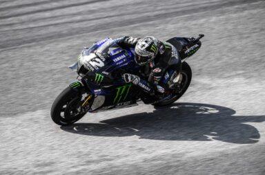 Viñales con la Yamaha oficial se quedó con la pole en Austria