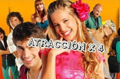 Atracción x 4