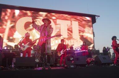 Coti inauguró una nueva forma de hacer shows en vivo