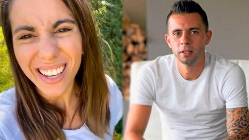 La crisis de llanto de Cinthia Fernández por Matías Defederico: