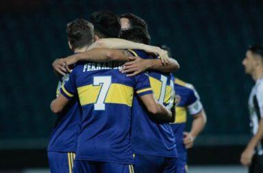 Boca ganó 2 a 0 en Paraguay en el regreso de la Copa Libertadores