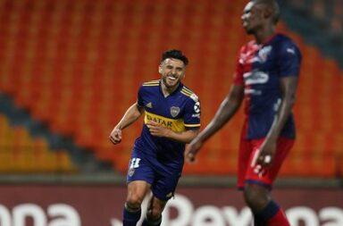 En el final, Boca consiguió la victoria en Medellín