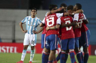 Racing dejó una buena imagen pero perdió frente a Nacional
