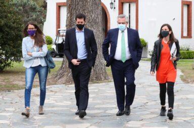 Alberto Fernández le reclamó a la Corte de Justicia que implemente la Ley Micaela