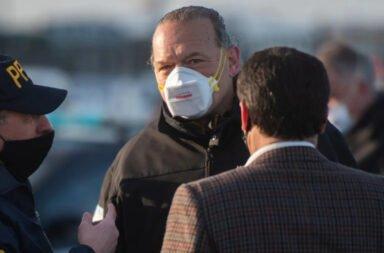 Berni aseguró que la protesta policial en la casa de Kicillof