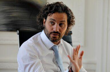 """Santiago Cafiero: """"Duhalde está mal, la familia lo tiene que cuidar"""""""