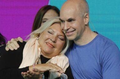 Elisa Carrió anunció que Rodríguez Larreta