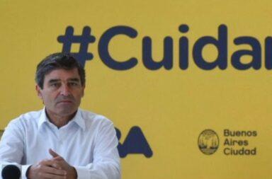 Fernán Quirós y la carga de datos de fallecidos por coronavirus en la Provincia: