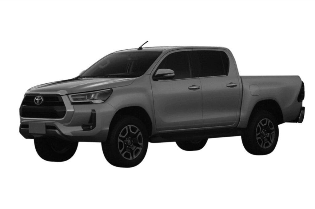 La Toyota Hilux 2021 ya fue patentada en Argentina