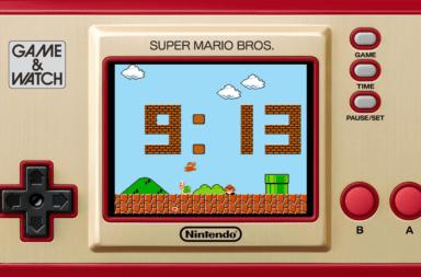 Se revelan detalles del nuevo Game & Watch Super Mario Bros.