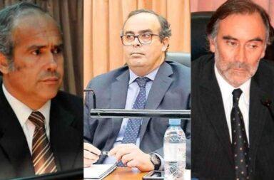 Convocan a una marcha de antorchas en respaldo de los tres jueces que desplazó el oficialismo