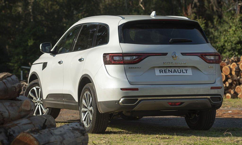 Llego el restyling de la Renault Koleos para el mercado argentino