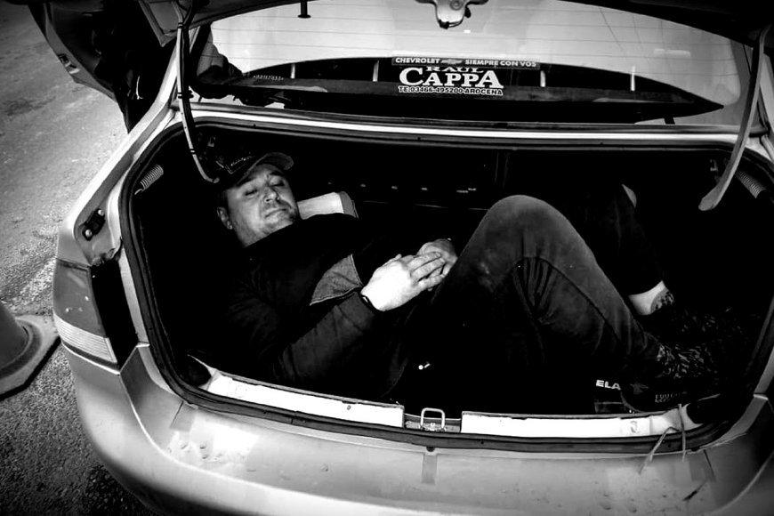 La verdadera historia del empresario ucraniano que viajaba en un baúl para reencontrarse con su familia