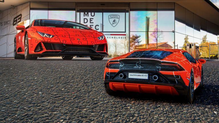 La posibilidad de tener un Lamborghini Huracán EVO llega en forma de rompecabezas 3D