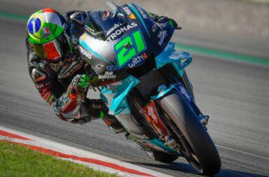 Morbidelli se quedó con su primera pole en Moto GP en el circuito de Barcelona