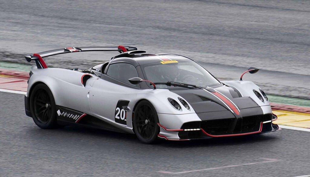 El Pagani Huayra Roadster BC se quedó con el récord de vuelta en Spa-Francorchamps